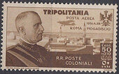 Tripolitania 1934 65th Birthday of King Victor Emmanuel III and Flight Rome to Mogadiscio b