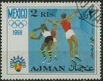 Ajman 1968 Olympic Games - Mexico f