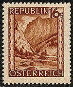 Austria 1946 Landscapes (II) e