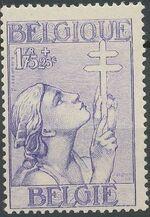 Belgium 1933 Anti Tuberculosis - Lorraine Cross f