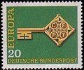 Germany, Federal Republic 1968 Europa a.jpg