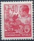 Germany DDR 1953 Workers For The Five-year Plan n