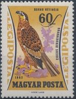 Hungary 1962 65th Anniversary of the Agricultural Museum - Birds of Prey c
