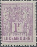 Luxembourg 1882 Industry and Commerce l