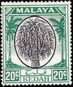 Malaya-Kedah 1950 Definitives i