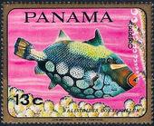 Panama 1968 Tropical Fish (Air Post Stamps) b