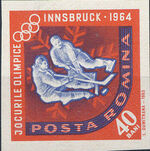 Romania 1963 9th Winter Olympic Games in Innsbruck k