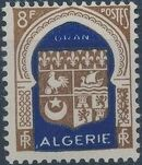 Algeria 1948 Coat of Arms (2nd Group) a
