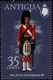 Antigua 1974 Military Uniforms d