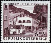 Austria 1964 15th UPU Congress in Vienna h