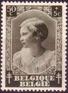 Belgium 1937 Princess Joséphine-Charlotte d