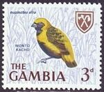 Gambia 1966 Birds f