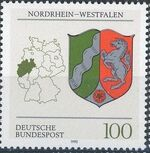 Germany, Federal Republic 1993 Coat of Arms of the Federal States of Germany (2nd Group) d