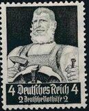 Germany-Third Reich 1934 Professions d