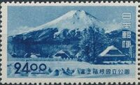 Japan 1949 Fuji-Hakone National Park d