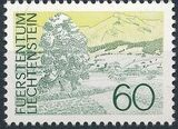 Liechtenstein 1973 Landscapes e