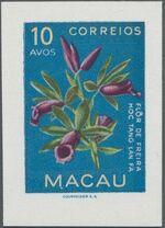 Macao 1953 Indigenous Flowers da