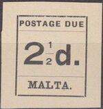 Malta 1925 Postage Due Stamps e