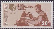 Malta 1975 International Women's Year d