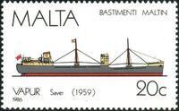 Malta 1986 Maltese Ships (4th Series) d