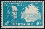 Martinique 1945 Victor Schoelcher c
