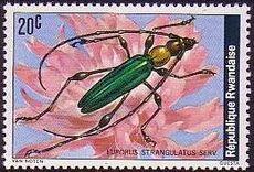 Rwanda 1978 Beetles a