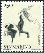 "San Marino 1976 ""Civic Virtues"" g"