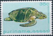 Surinam 1982 Turtles e