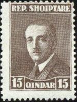 Albania 1925 President Ahmed Zogu e