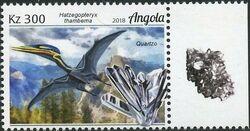 Angola 2018 Wildlife of Angola - Dinosaurs and Minerals b