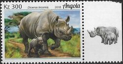 Angola 2018 Wildlife of Angola - Rhinos d