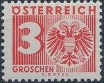 Austria 1935 Coat of Arms and Digit c