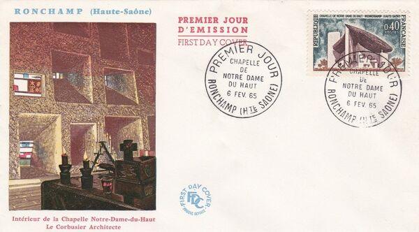 France 1965 Tourism FDCa