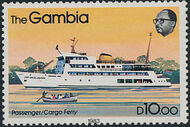 Gambia 1983 River Boats p