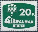 Gibraltar 1976 Postage Due Stamps f