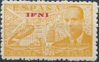 Ifni 1948 Juan de la Cierva - Air Post Stamps a