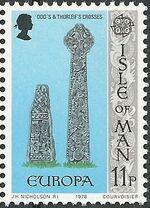 Isle of Man 1978 Europa f