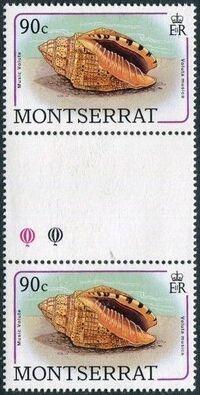 Montserrat 1988 Sea Shells gi