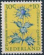 Netherlands 1960 Surtax for Child Welfare - Flowers e