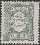 Portugal 1922 Postage Due Stamps (Unicolor) j