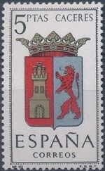 Spain 1962 Coat of Arms - 1st Group j
