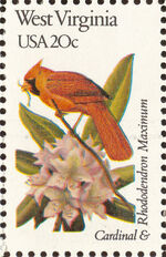 United States of America 1982 State birds and flowers zt