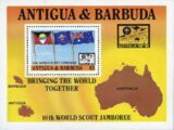 Antigua and Barbuda 1987 16th World Scout Jamboree Australia
