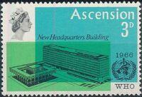 Ascension 1966 Inauguration of WHO Headquarters Geneva a