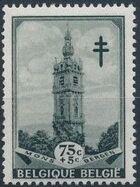 Belgium 1939 Anti Tuberculosis - Belfries d