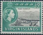 British Virgin Islands 1964 Queen Elizabeth II and Views e