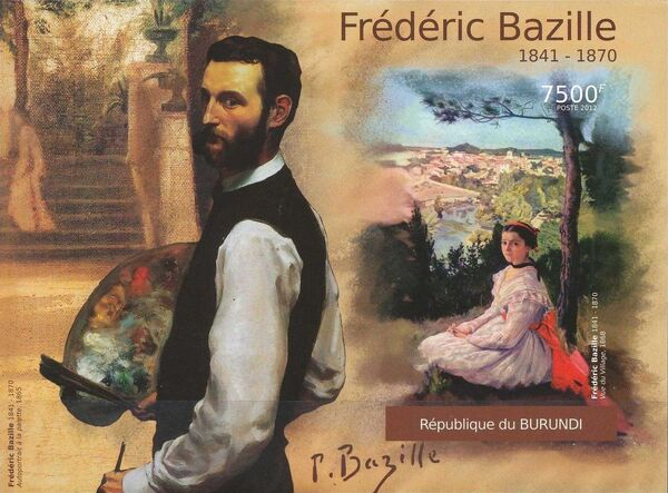 Burundi 2012 Paintings by Frederic Bazille n