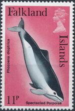 Falkland Islands 1980 Porpoises & Dolphins d