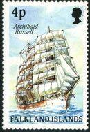 Falkland Islands 1989 Ships of Cape Horn d