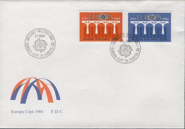 Finland 1984 EUROPA FDCa